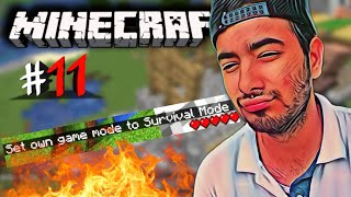 I did a TERRIBLE thing in Minecraft 😟