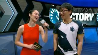 Doublelift is back with the Trash Talk.... Bang?