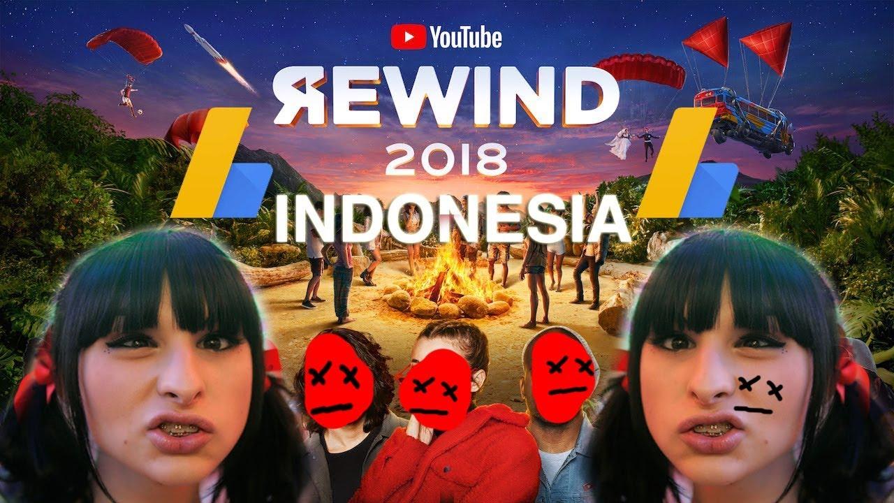 Youtube Rewind Indonesia 2018 Hati2diinternet Version Youtube