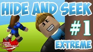 WHOSE CARE IS TOO PRO MAH! -Roblox Indonesia Hide and Seek Extreme #1