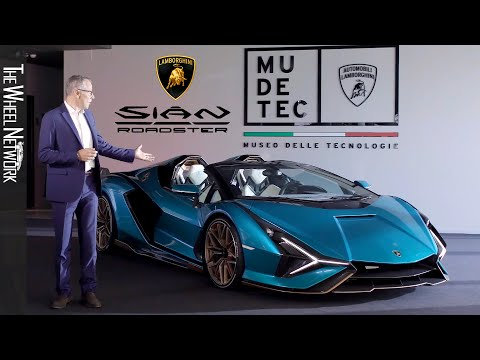 Lamborghini Sian Roadster Reveal – 819 HP Sold-Out Limited Series