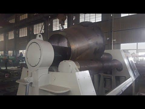 Rolling Sheet Metal  W12-10X2500 | Sheet Metal Rolling Machine Price