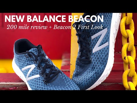 New Balance Beacon 200 Mile Review + Beacon 2 First Look