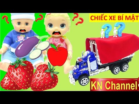 Đồ chơi nhà bếp CHIẾC XE  BÍ MẬT MỚI CỦA BÚP BÊ BABY ALIVE DOLL Kitchen toy