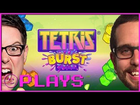 Greg v Colin: Tetris Burst in Sparcade – Kinda Funny Plays