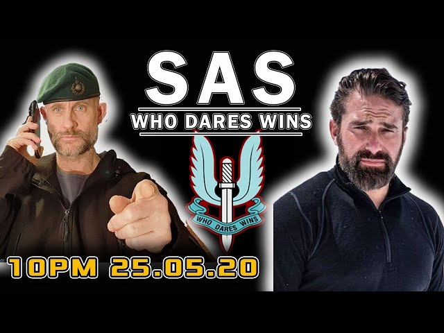 SAS WHO DARES WINS - LIVE CHAT WITH A ROYAL MARINES COMMANDO