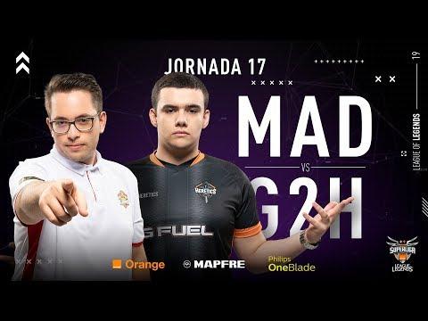 MAD LIONS E.C. VS G2 HERETICS   Superliga Orange League of Legends   Jornada 17   Temporada 2019 thumbnail