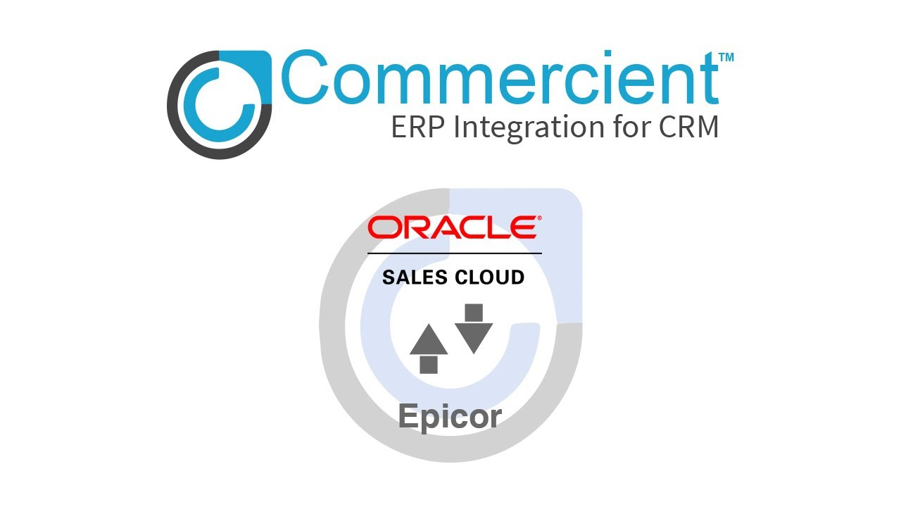 SYNC for Epicor and Oracle Sales Cloud