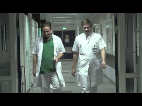 Radek working as a hospital doctor in Southern Denmark