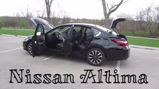 2018 Nissan Altima 2.5 SL // review, walk around, and test drive // 100 rental cars