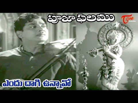 Pooja Phalam Movie Songs | Endu Daagi Unnavo | ANR | Savitri | Jamuna