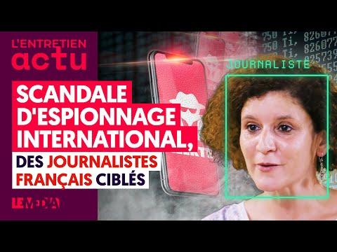 """SCANDALE D'ESPIONNAGE INTERNATIONAL """"PEGASUS"""" : UNE JOURNALISTE FRANÇAISE CIBLÉE TÉMOIGNE"""