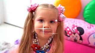 Diana Pretend Play Dress Up & Kids Make Up Toys