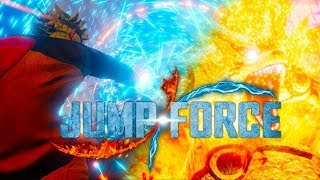 Jump Force - 6 Minutes of NEW Official Gameplay Demo E3 2018 (PS4 XBOX ONE PC)