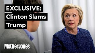 EXCLUSIVE: Clinton Slams Trump on Special Counsel Threat