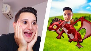 I HAVE A DRAGON AS A PET? | ROBLOX