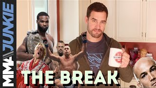 The Break: Tyron Woodley's rap debut, Herb Dean's painful non-stoppage and more