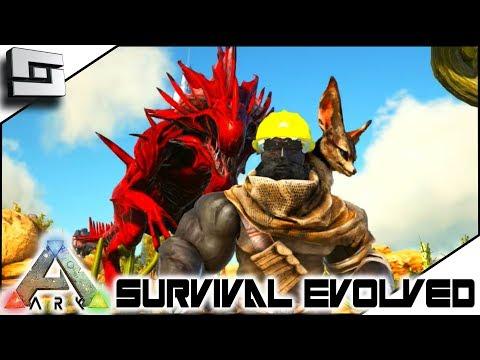 ARK: Survival Evolved - Death By Reaper Queen! ( Modded Ark Primal