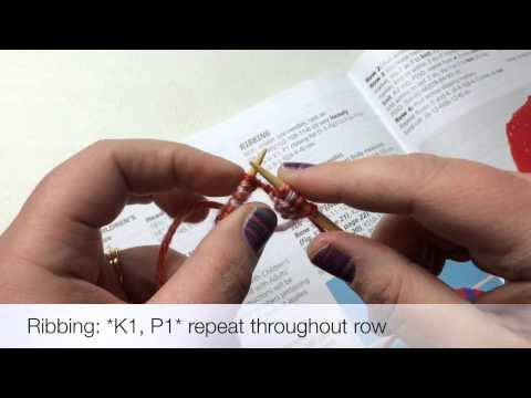 Needles | Knit 1x1 Ribbing | knit 1 purl 1