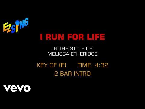 Melissa Etheridge - I Run For Life (Karaoke) mp3