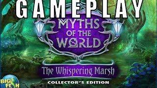 Myths: Whispering Marsh Gameplay/Test/Android game by Big Fish Games(Full)Adventure