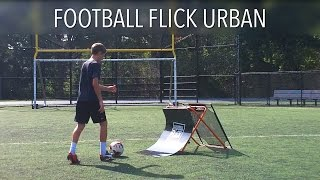 Football Flick Urban - Testing the Ultimate Soccer Trainer - Skills With Football Flick