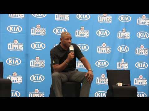 Los Angeles Clippers: Doc Rivers meets the press for Media Day