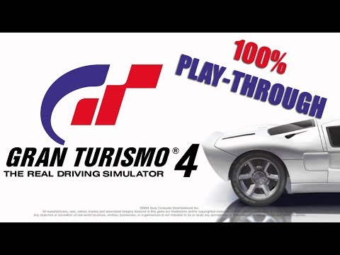 Gran Turismo 4 -Super License All Golds (100% Playthrough)