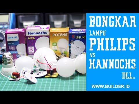 Bongkar Lampu Philips Vs Hannochs Vs Merek Lain, Mana Yang Terbaik?