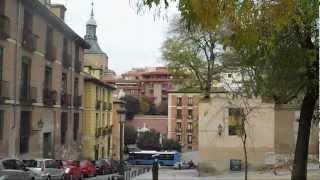 Madrid, Spain :  Walking through the Old Town - Paseo por La Latina y la Plaza de la Paja