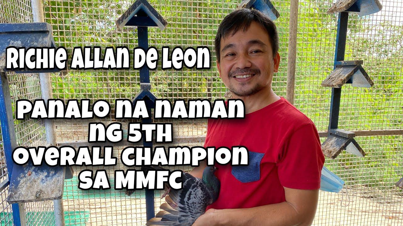 RICHIE ALLAN DE LEON OVER ALL CHAMPION NA NAMAN SA MMFC |Reggie Cruz Loft & Aviary #reggiecruzloft