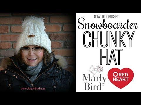How to Crochet Chloe Kim Chunky Hat