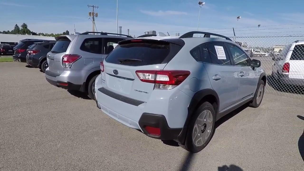 2018 Subaru Crosstrek Cool Gray Khaki - YouTube