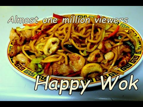 蠔油雞面 Stir Fry : Chicken Noodle In Oyster Sauce: Authentic Chinese Cooking