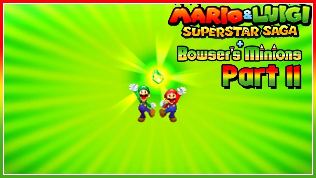 Mario Luigi Superstar Saga Bowser S Minions Part 11 The Remaining Pieces