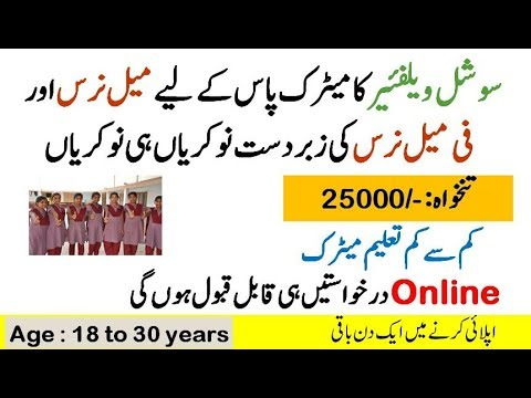 Social Welfare Work and Bait-Ul-Maal Punjab New 2019 online Apply