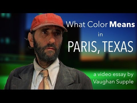 "What Color Means in ""Paris, Texas"""