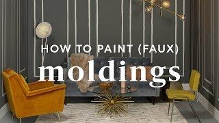 DIY Faux Moldings