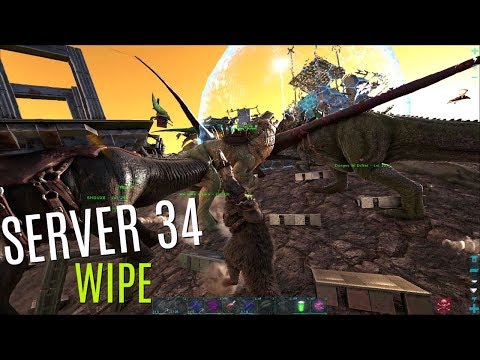 THE BEGINNING - Server 34 (NoName) Wipe - Official PVP - ARK Survival