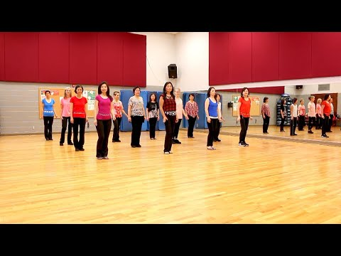 All Katchi, All Night Long - Line Dance (Dance & Teach in English & 中文)