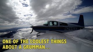 One of the coolest things about a Grumman airplane...