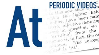 Astatine (new) - Periodic Table of Videos