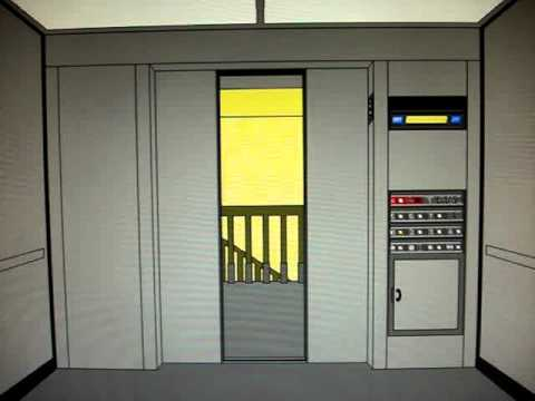 Animated Dover Highdraulic Elevator At Central St
