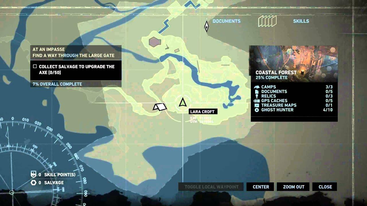 Tomb Raider Ghost Hunter Map