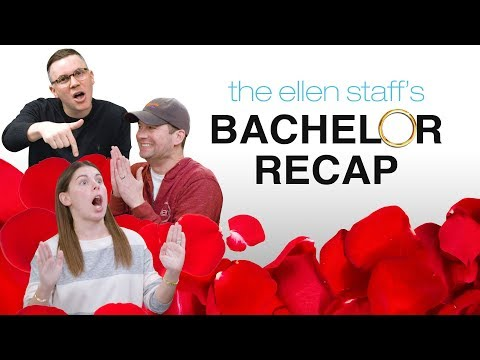 Ellen's Staff Saved Themselves for 'The Bachelor' Colton Underwood