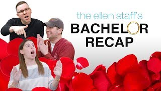 Ellen's Staff Saved Themselves for The Bachelor Colton Underwood
