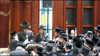 Boyan Rebbe Visiting New York - Cheshvan 5775