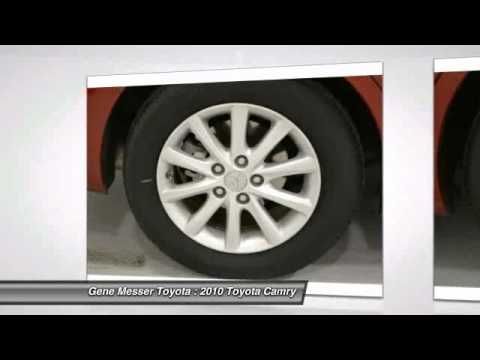 2010 Toyota Camry At Gene Messer Toyota In Lubbock AR067654