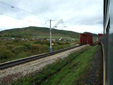 Vienna - Pyongyang by train: East of Krasnoyarsk on the Transsib