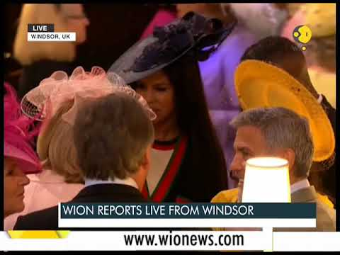 The Royal Wedding: Guests arrive at the Windsor Castle
